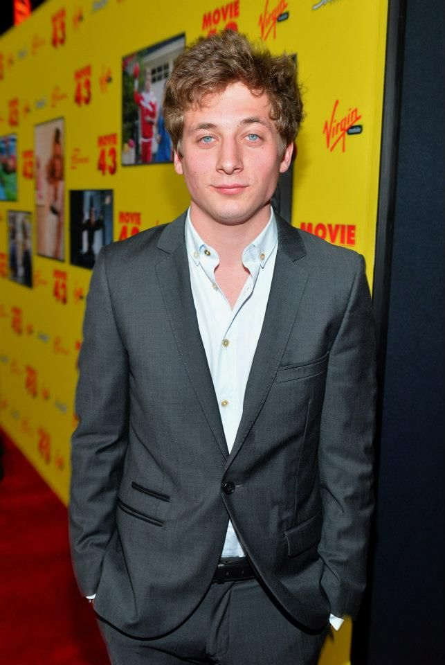 "Actor Jeremy Allen White attends Relativity Media's ""Movie 43"" Los Angeles Premiere held at the TCL Chinese Theatre on January 23, 2013 in Hollywood, California. (Photo by Alberto E. Rodriguez/Getty Images For Relativity Media) 2013 Getty Images"