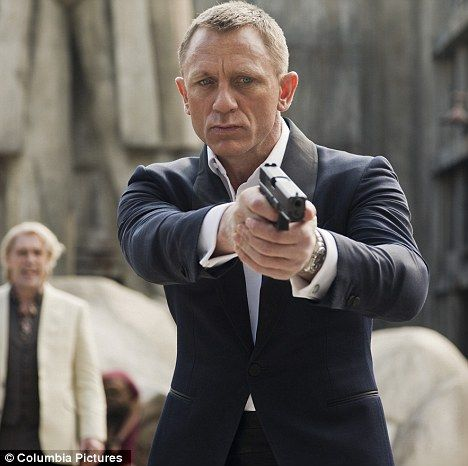The name's Bond, $1 billion Bond: Skyfall becomes first 007 film to cross box…