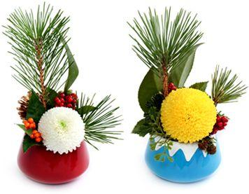 花・フラワーギフトなら青山フラワーマーケット | お正月特集-彩り華やかな新年の幕開けを。|2012年お正月特集