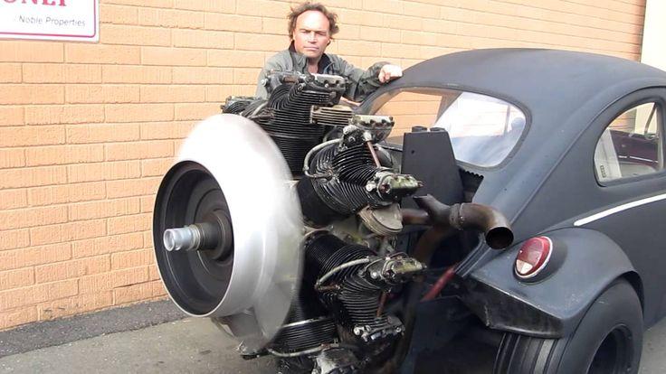 Radial Engine Start Up Volkswagen