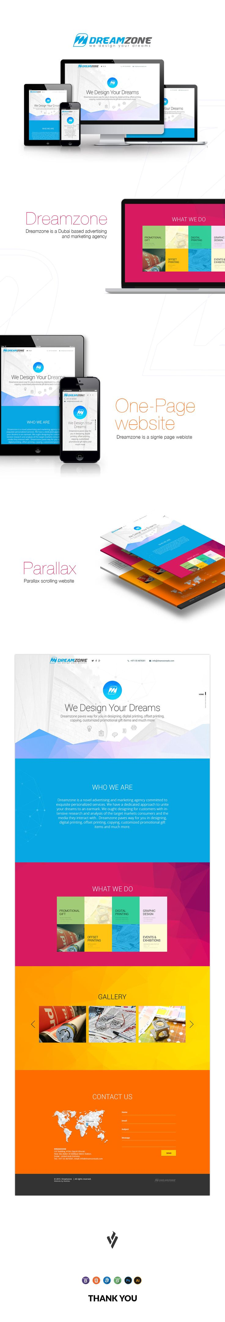 Dreamzone on Behance