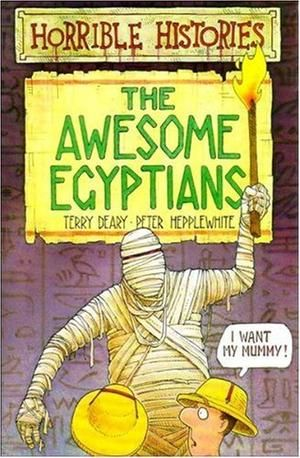 """""""The Awesome Egyptians (Horrible Histories)"""" av Terry Deary"""