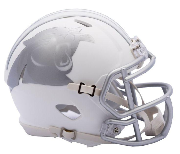Carolina Panthers Helmet - Riddell Replica Mini - Speed Style - Ice Alternate