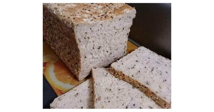 Jumbo White Multigrain Bread Loaf - Thermomumma