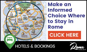 Rome Hotel Districts Guide