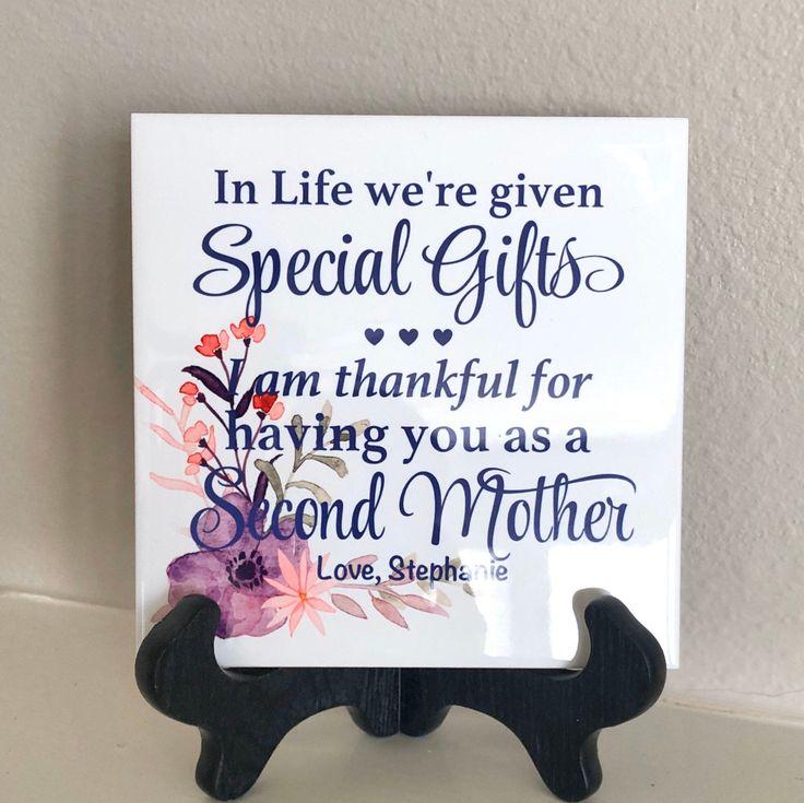 Personalized Bonus Mom Gift, Custom Stepmom Gift, Mother