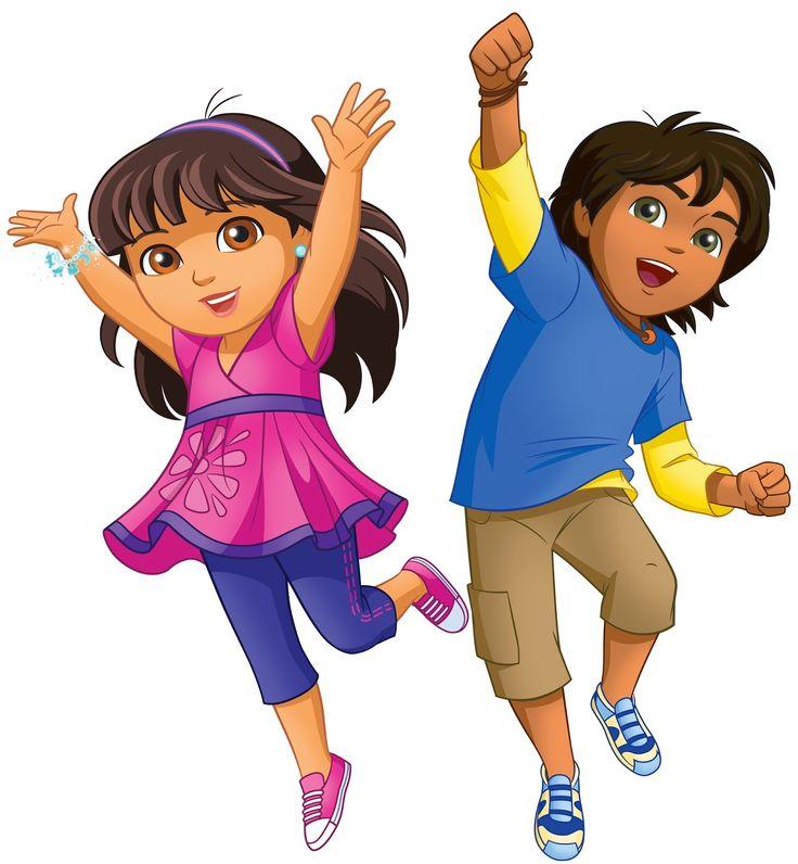 """Cartoons Go Diego Go: NickALive!: Nick Jr. Asia To Premiere """"Dora And Friends"""