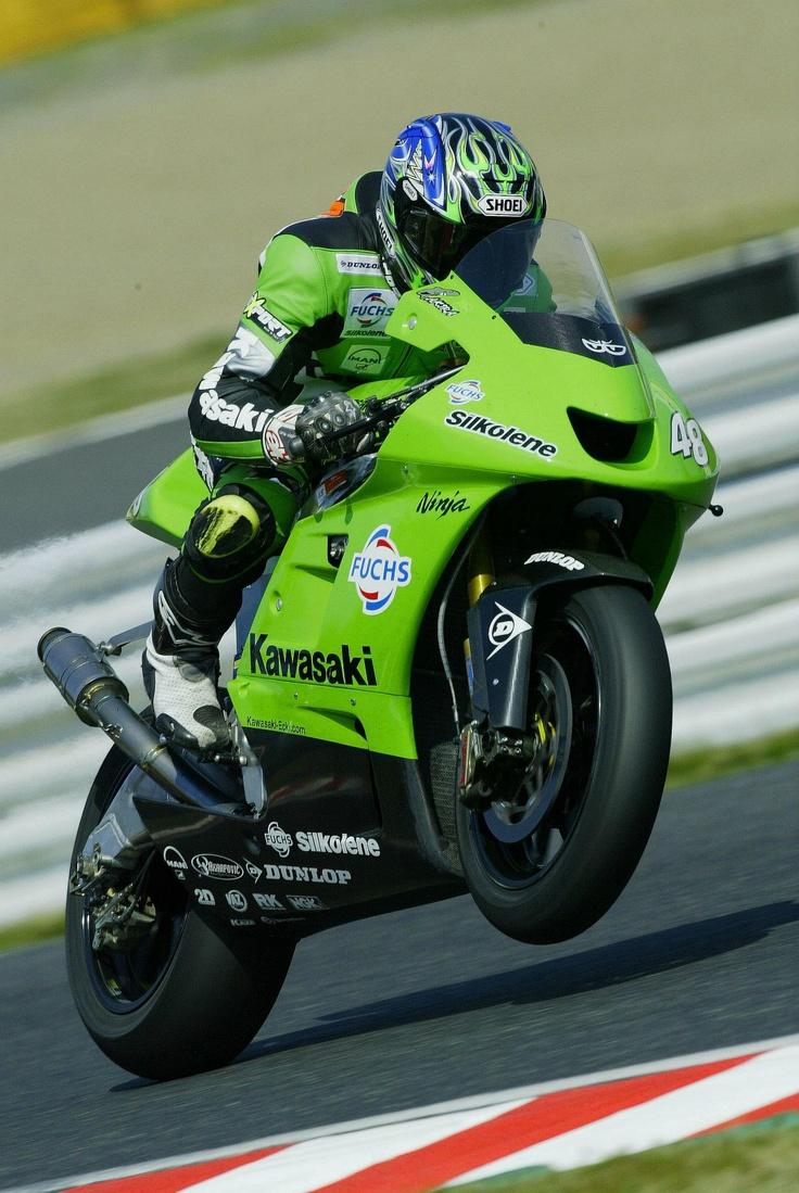 Akira Yanagawa And Kawasaki GP
