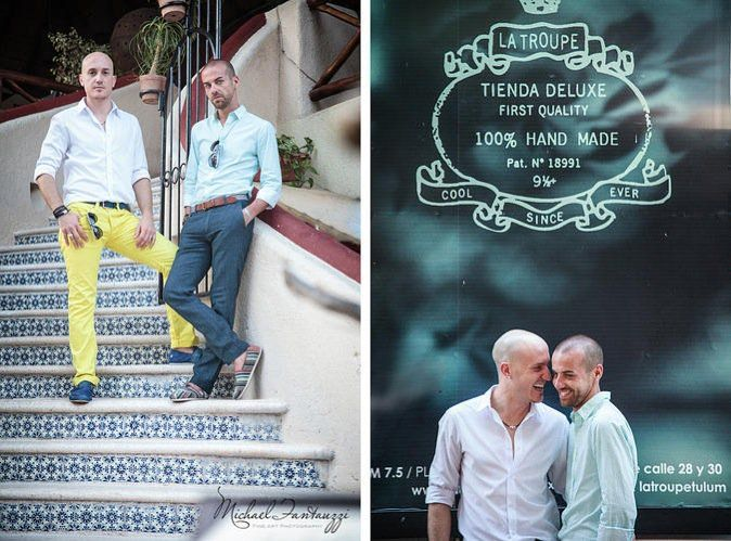 Our Couple of the Week! LGBTQ destination weddings are truly a reflection of world equality! http://bit.ly/1NorjA9 #LGBTQ #samesexmarriage #caribbeanwedding #mexicodestinationweddings #destinationweddings #lizmooredestinationweddings