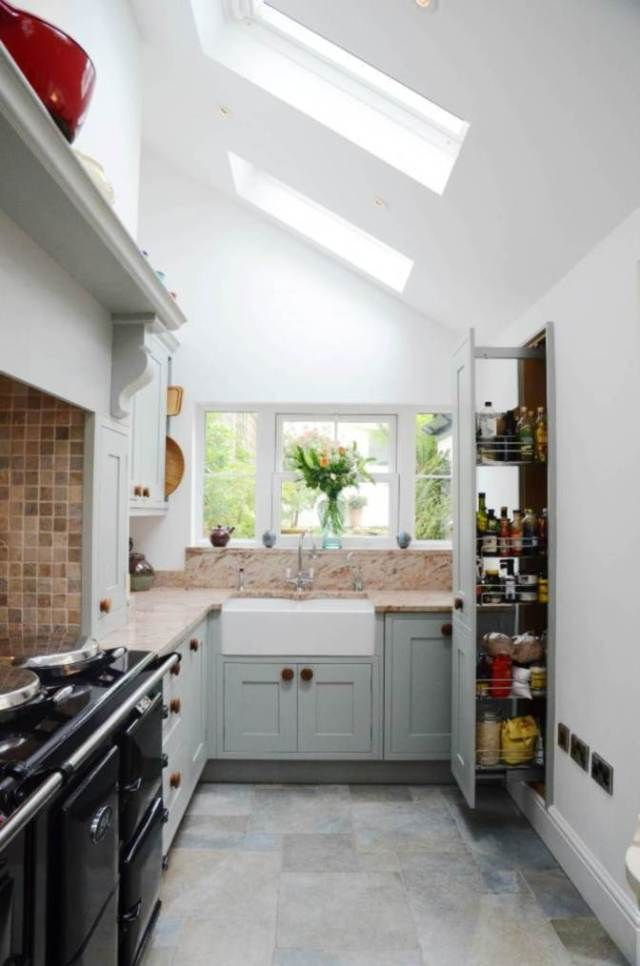 don t feel limited by a small kitchen space get design inspiration rh pinterest com