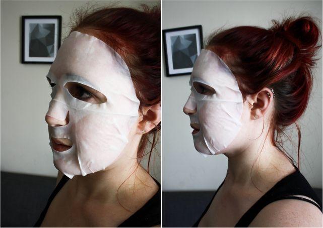 Sorbet Hydrating Serum Mask  #beauty #beautyblogger #beautyblog #bblogger #bblog #facemask #sheetmask