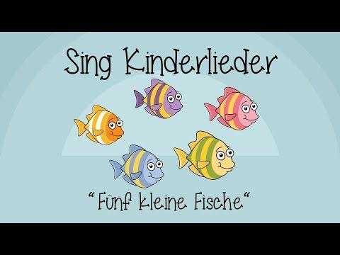 Fünf kleine Fische - Lichterkinder   Kinderlieder   Bewegungs - und Laternenlieder - YouTube