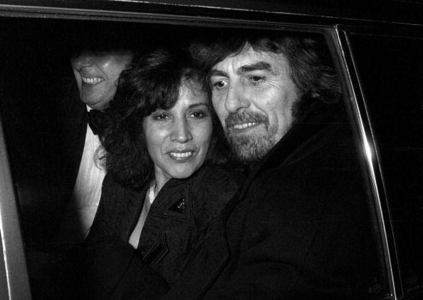 George & Olivia Harrison at Caprice Restaurant in London February 1990 Photo: Tom Wargacki
