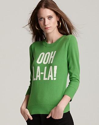 kate spade new york ooh la-la sweater.