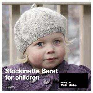 MH0029 UK Stockinette Beret for children.
