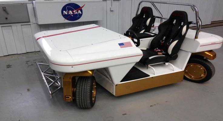 Intip Mobil Tanpa Pengemudi Buatan NASA