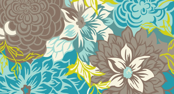 The stunning artwork for the custom coloured Lulu rug. #TheRugCollection