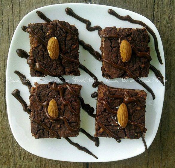 Низкокалорийный торт брауни диетический рецепт   CookNice