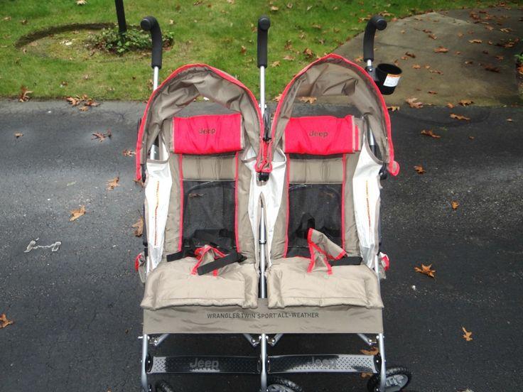 Jeep Wrangler Twin Sport Stroller! Stroller, Baby