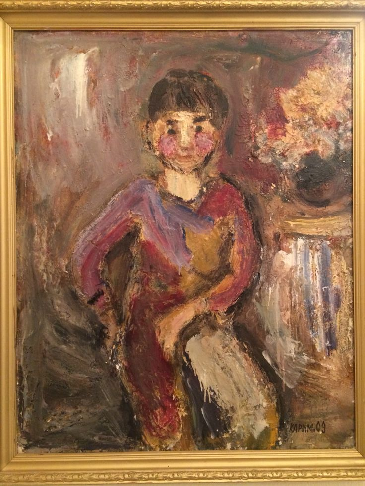 Karimullin Ravkat  Oil on canvas 60/80 cm.