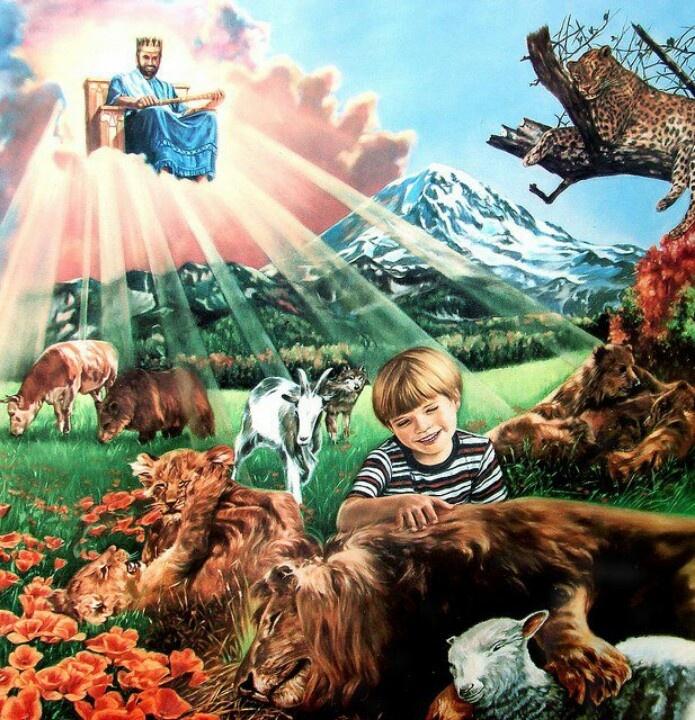 """Voici - Voici à quoi ressemblerait le """"Monde à venir"""" après le Retour de Jésus 40e4749d0a4ae145cc3b786bd24a4ee0"""