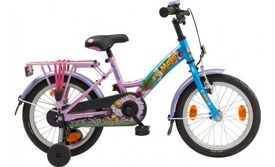 Maya - Maya, wie kent haar niet? Voor de allerkleinste is er nu de mooie Maya kinderfiets! Deze 16 inch kinderfiets is geschikt voor kinderen van 3 tot 4 jaar.
