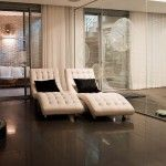 Fancy Modern Cream Chaise Lounges Design Ideas for The Minimalist Home