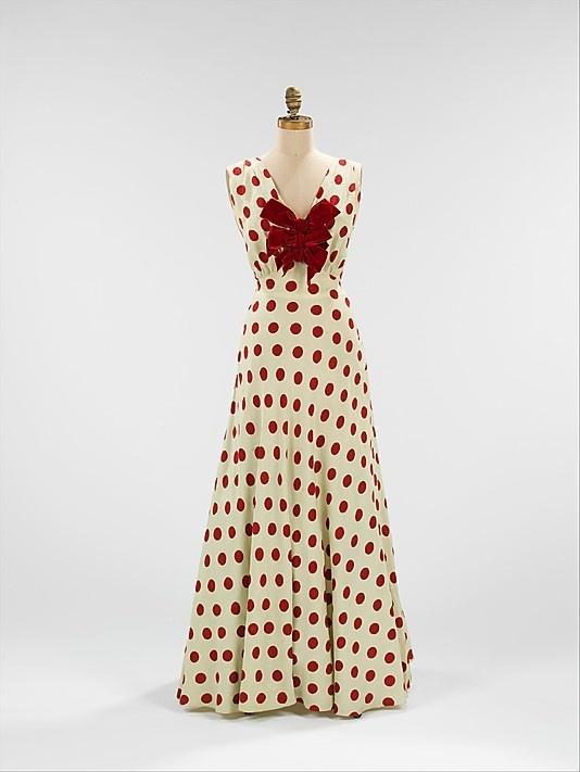 c 1935 evening dress