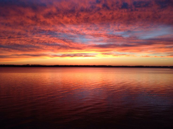 Sunrise  J.H. Kerr Reservoir by Joshua Davis on 500px