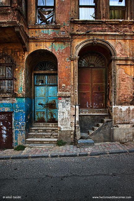 Doors in Istanbul