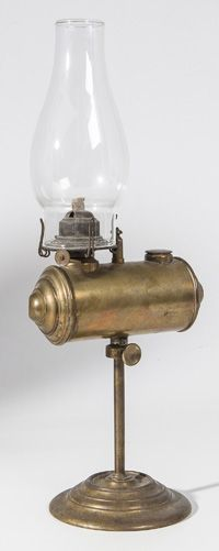 Brass Student Oil Lamp