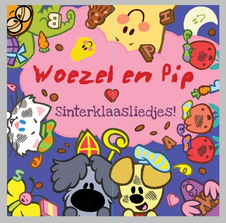 Woezel en Pip Sinterklaasliedjes! nu via iTunes!