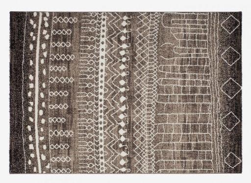 MONOQI | 170x120 Tassala Rug - Brown