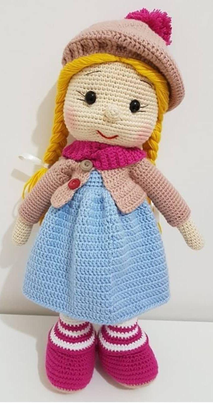 54+ Friendly and Sweet Amigurumi Dolls Crochet Pattern Ideas ... | 1350x715