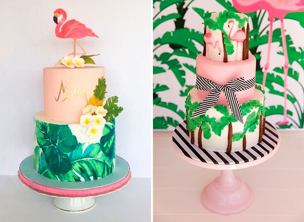 15 Bolos Com Flamingo Para A Festa De 15 Anos Constance Zahn