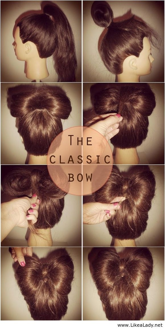 Hair bow - Easy and stylish