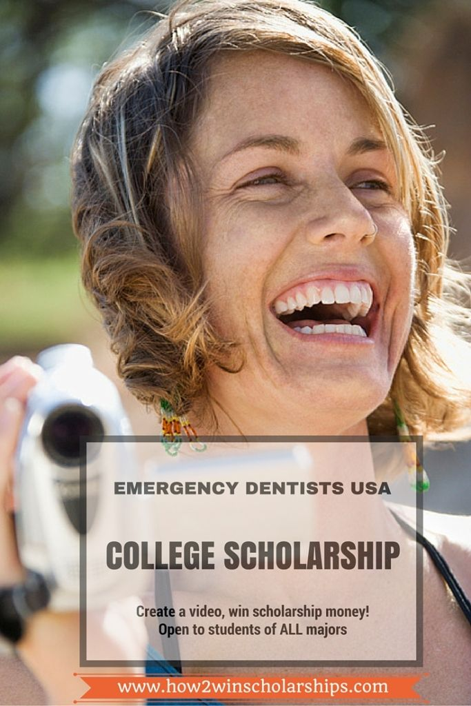 Emergency Dental USA College Scholarship:  Emergency Dentists USA is offering a scholarship that is open to students of ANY major.  Winning tips here!