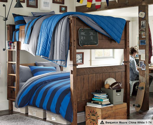 oh my gosh i would have killed to have a full over full bunkbed when i was younger i have had bunkbed fever since i was little but still have never owned