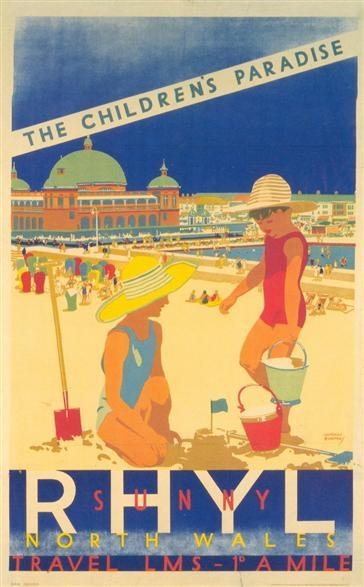 By J. Burton, 1930, Rhyl, Britain.