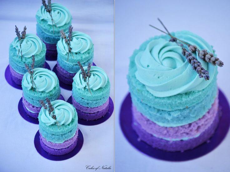 Cakes of Natalie: Мятно-лавандовая свадьба