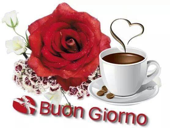 Buongiorno. .....una rosa e un caffè