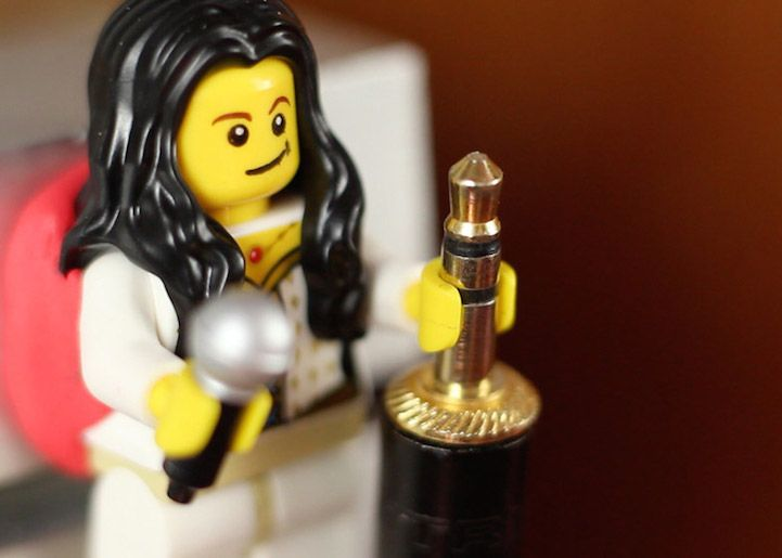 Lego Figures' Hands Are the Perfect Size to Hold Your Cords - My Modern Met