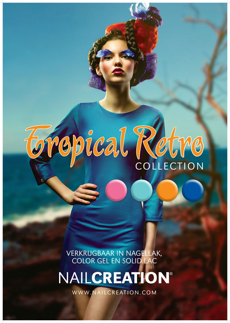 Spring/Summer 2013 trend collection Nail Creation: Tropical Retro