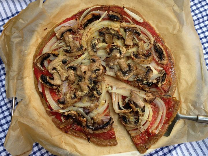 pizza sense gluten vegana