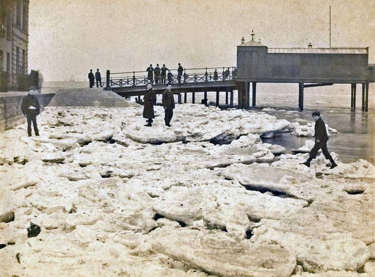 Mersey froze, 1895