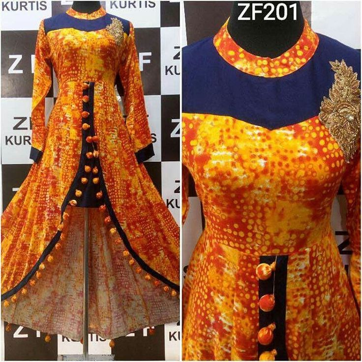 """1,202 Likes, 9 Comments - Wishes of female  (@wishes_of_female) on Instagram: """"Zf201 rayon designer kurties hand work front stylish cut with latkan balls stylish designer kurties…"""""""