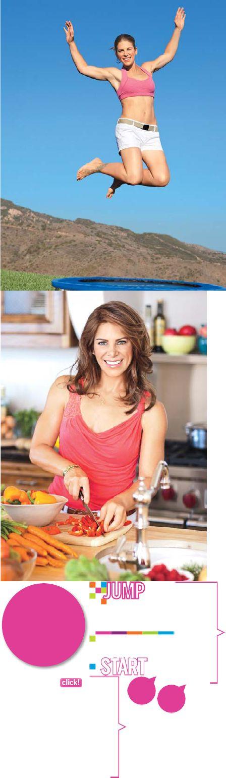 Jump Start Diet-Jillian Michaels Food Plan and healthy eating tips