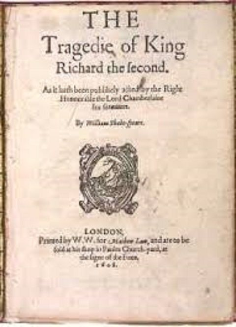 Book Review 4 out of 5 stars to Richard II, a tragedy or historical account written in 1595 by William Shakespeare. Richard II is the first of a series written about the War of the Roses, a famous … ThisIsMyTruthNow