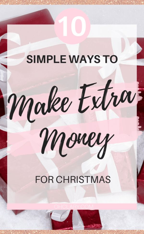 10 Real & Tested Ways to Earn Extra Cash For Christmas. Take the stress out of C… – home jobs