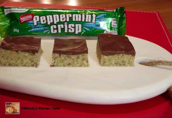 Peppermint Slice Recipe Condensed Milk Video Tutorial